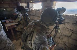 مشاهد من المعارك المتواصلة بين القوات العراقية وتنظيم الدولة في الموصل