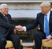 محمود-عباس-يلتقي-برئيس-الوليات-المتحدة-ترامب-في-البيت-الأبيض-و-اهم-نتائج-اللقاء
