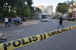 إصابات في انفجار استهدف حافلة للشرطة التركية