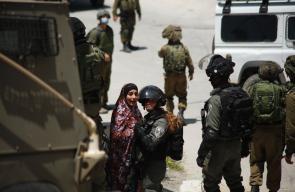 قوات الاحتلال تشن حملة اعتقالات واسعة في بلدة يعبد