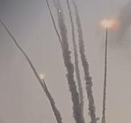 صاروخ غزة