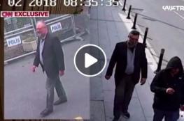 """""""سي إن إن"""" تنشر فيديو لسعودي يخرج من القنصيلة بملابس خاشقجي بعد قتله"""
