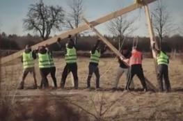 متطرفون ألمان ينصبون صلبانا عملاقة لمنع إنشاء مسجد