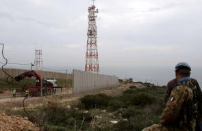 الاحتلال يواصل إقامة جدار على الحدود اللبنانية
