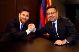 ميسي يستعد لمقاضاة بارتوميو و4 مسؤولين في برشلونة