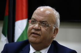 عريقات: أبو الغيط فقد مصداقيته ليكون أمينا عاما وعليه تقديم استقالته فورا