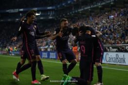 برشلونة يعبر عقبة ديربي كتالونيا بهدايا إسبانيول
