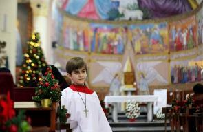 صلوات واحتفالات للمواطنين المسيحيين في غزة