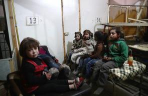 عشرات الجرحى جراء الغارات الجوية العنيفة على مدينة دوما بالغوطة الشرقية