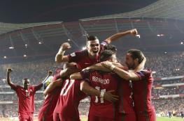 البرتغال تخطف بطاقة المونديال من سويسرا بفارق الأهداف