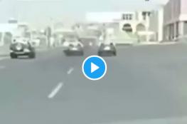 مطاردة مثيرة لمسلح أطلق النار على سيارات في السعودية