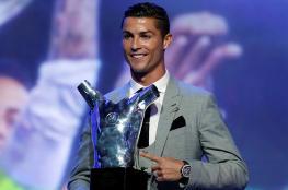 رونالدو أفضل لاعب في البرتغال لعام 2017