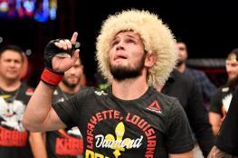 """حبيب محمدوف.. المقاتل الروسي الذي لم يهزم يعلن اعتزاله بعد الفوز في بطولة """"UFC"""""""