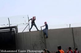 اصابات إثر قمع الاحتلال مسيرة نعلين المناهضة للاستيطان