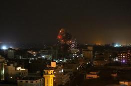 مراسل شهاب: غارات إسرائيلية على قطاع غزة