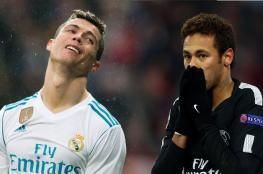 رونالدو منزعج لتفاوض ريال مدريد مع نيمار