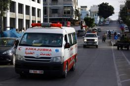 4 إصابات في حوادث سير بقطاع غزة