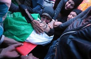 غزة تودع شهيدا جمعة