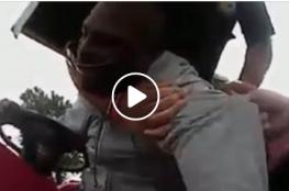 الشرطة الأمريكية تقتل مريضا نفسيا خنقا!!