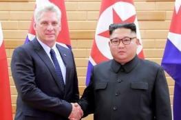 زعيما كوريا الشمالية وكوبا يبحثان الوضع في شبه الجزيرة