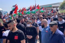العشرات يشاركون بمسيرة العودة في الدامون جنوب شرق عكا