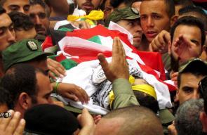 تشييع جثمان الشهيد محمد جبريل في بيت لحم