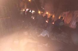 احتجاجات فلسطينية وإغلاق مداخل المخيمات رفضاً لإجراءات وزارة العمل اللبنانية