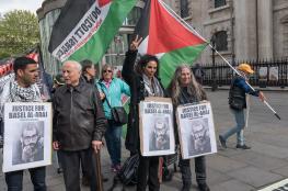 فعاليات أوروبية دعما لإضراب الأسرى الفلسطينيين