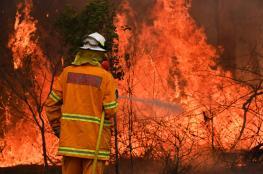 مقتل شخص ودمار 100 منزل جراء حرائق الغابات في أستراليا