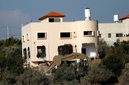جيش الاحتلال يهدم منزل عائلة الشهيد أشرف نعالوة