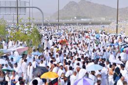 مليون حاج يصلون السعودية لأداء الفريضة