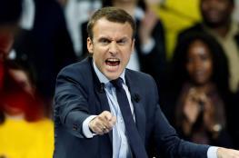 ماكرون: فرنسا ستضرب النظام السوري إذا ثبت استخدامه للأسلحة الكيميائية
