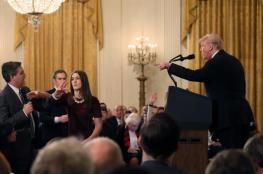 """مؤتمر صحفي """"مجنون"""" لترامب.. ملاسنة حادة بين ترامب ومراسل سي أن أن: """"أنت عدو للناس"""""""