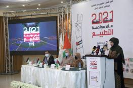 حملة المقاطعة تشارك مؤتمر إعلان 2021 عام مواجهة التطبيع