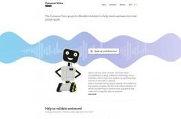 موزيلا تتيح قاعدة البيانات الصوتية للتحميل مجانا