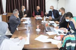 غزة.. اجتماع للاطمئنان على جهوزية المستشفيات مع تطورات الحالة الوبائية