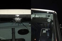 إطلاق نار على حافلة إسرائيلية في جنين