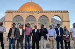 الشيخ عكرمة صبري: زيارة المطبعين للأقصى لا تقل خطورة عن اقتحامات المستوطنين