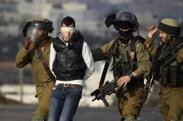 الاحتلال يعتقل 12 فلسطينيا من الضفة