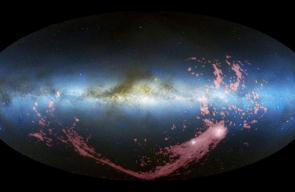 تنين غامض حير العلماء رقص في مجرة درب التبانة