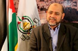 أبو مرزوق على رأس وفد من حماس ينضم الى وفد الحركة في القاهرة