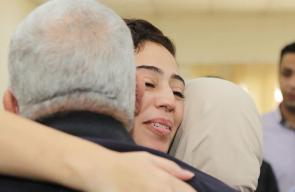 استقبال حافل للأسيرين عبد الرحمن مرعي وهبة اللبدي في الأردن
