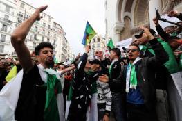 الجزائريون يحتشدون بالعاصمة في جمعة الاحتجاجات الـ 12