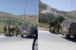 إصابة خطيرة برصاص قوات الاحتلال جنوب نابلس