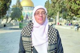 الاحتلال يمنع الأسيرة خديجة خويص من الصلاة وارتداء الحجاب