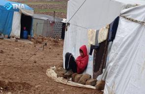 معاناة النازحين السوريين في مخيم الزفر بريف إدلب