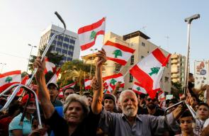 تظاهرات لبنان تتواصل في يومها السادس