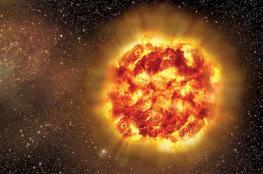 انفجار شمسي قوي يؤثر على الاتصالات العالمية