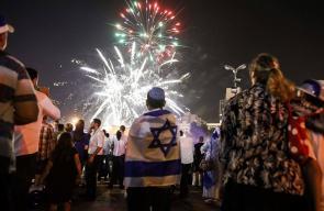 المستوطنون اليهود يحتفلون بالذكرى الـ 70 لقيام الكيان الصهيوني
