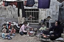 اللجنة الشعبية: 85% من سكان قطاع غزة يعيشون تحت خط الفقر